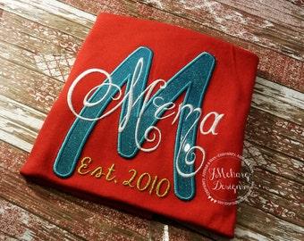 Custom Grandparent's Nickname shirt - Established in shirt