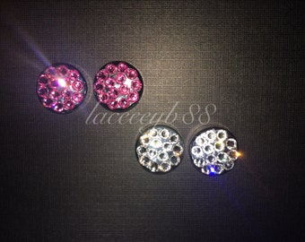 Swarovski Bling Screw Caps