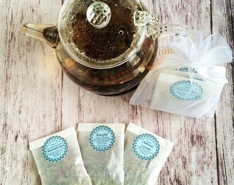 "Organic ""Relaxing"" Full Leaf Tea Sampler Set"