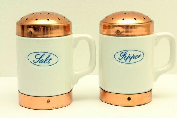 Vintage Ceramic Salt And Pepper Shakers Salt And Pepper Shakers
