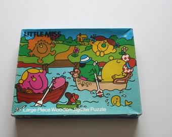 Mr Men jigsaw puzzle vintage game UK seller