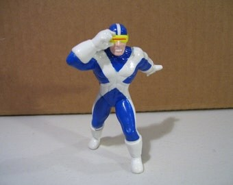 Vintage Marvel X-Men Cyclops Pvc Figure, 1990