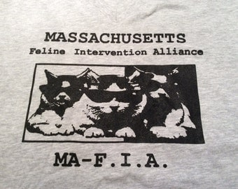 Massachusetts Feline Intervention Alliance T-shirt