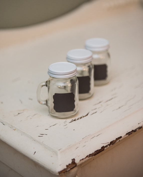 24 white lids to fit mini mason jars. Black Bedroom Furniture Sets. Home Design Ideas