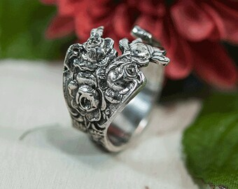 "Spoon Ring: ""Doris"" by Silver Spoon Jewelry"