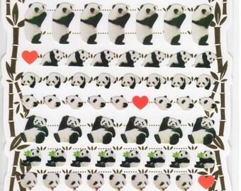 Japan kawaii PANDA sticker sheet/438789 Schedule,Diary