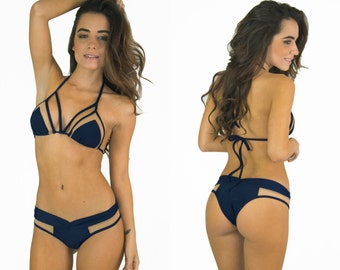 Mesh Triangle Top NAVY