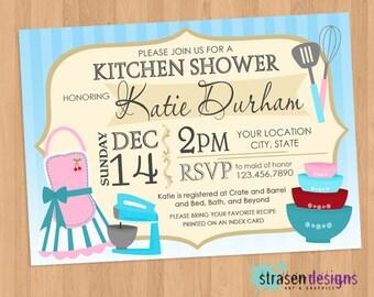 Kitchen Wedding Shower Invitation Printable
