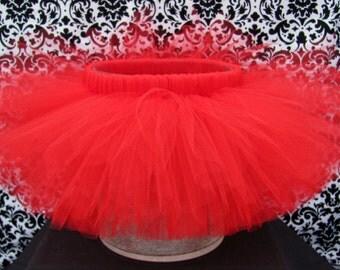 Women's Red Tutu, Valentine's Day Tutu, Christmas Tutu, Halloween Tutu, Rave Tutu, Cosplay Tutu, Wedding Tutu, Adult Red Tutu, Ladies Tutu