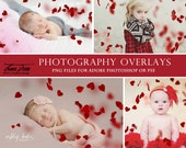 Photography Valentine's Day Heart Overlays, Heart Photo Overlays, Photoshop overlays