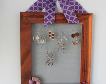 SALE! Earring Organizers for your Wall