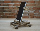 iPhone 6 stand Wooden iPhone holder Dock station
