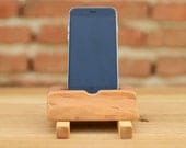 iPhone  6 Dock Recycled wood iPhone station Wooden iPhone 6 stand Apple Wood iPhone Holder