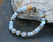 Beautiful gemstone bracelet