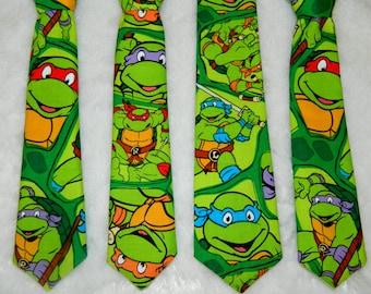 Teenage Mutant Ninja Turtle Adjustable Infant/Toddler Neck Tie or Bow-Tie: 0-18 Months, 2T-4T, 5T/6T, 7/8