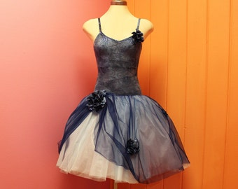 ON SALE - 50% OFF!! Midnight Blue- romantic woman's dress costume