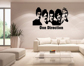 Wall Quotes Promotions Nice Home Decor One Direction Wall Sticker Decal  Wallpaper Well Sold (DR)