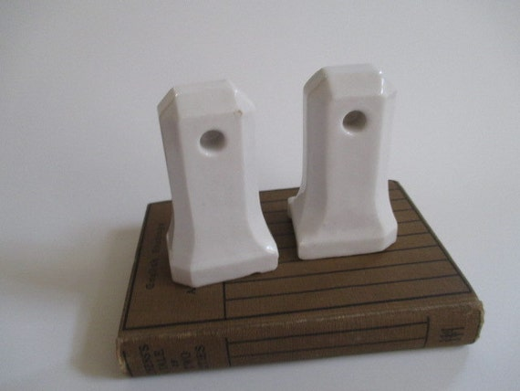 vintage retro bath decor ceramic towel holder fixture housewares