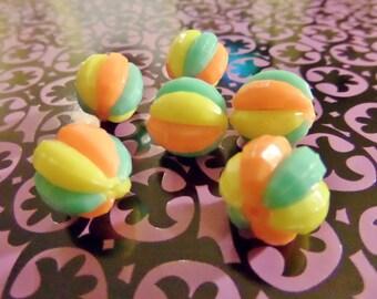 Beach Ball Puzzle Beads