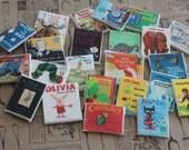 Edible Mini Children's Story Book cupcake topper - Little Hope Cakes LLC