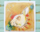 "12""x12"" Hare Print"