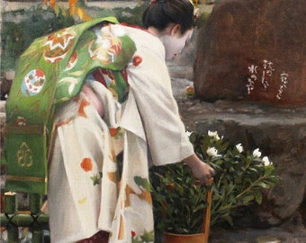 "Kanikakuni - 8"" x 10"" signed print of an original oil painting"