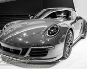 Porsche 911, Photography, fine art Photography, Black and white, wall art, home décor, car photography, vintage, truck, auto, gift, print
