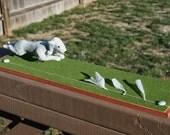 2 Custom Lure Coursing Dog Sculptures for Christina