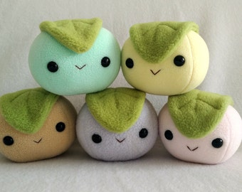 Mochi dessert rice ball plush
