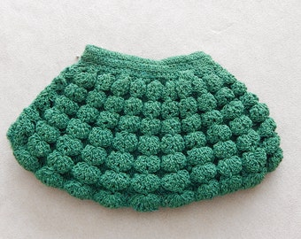 Vintage Small Green Clutch