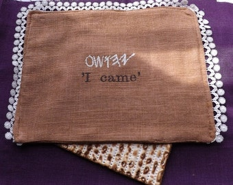 I came Messianic Passover Seder Afikomen Matzah Cover