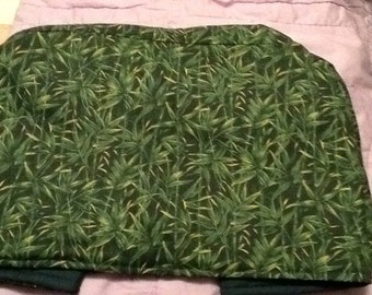 Toaster Oven Cover - Green Bamboo