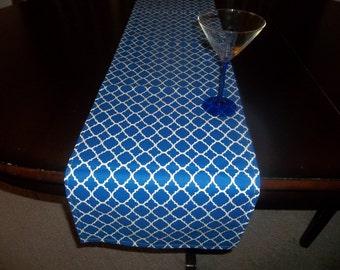 Wedding Fynn Royal blue table runner