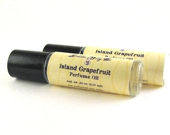 Island Grapefruit Perfume - Grapefruit Perfume - Simply Grapefruit - Fruit Perfume - Handmade