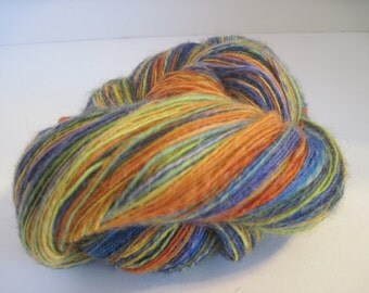 Clown Shoes 100% Wool Singles Lace Weight yarn