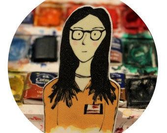 Alex Vause brooch