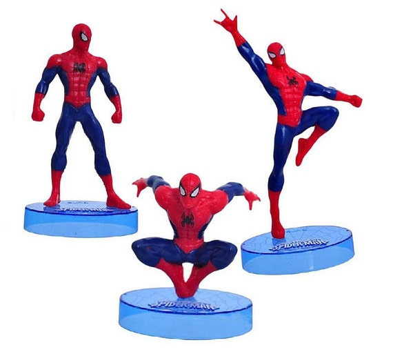 Superhero Figurine Cake Toppers