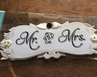 Jolee's Boutique Stickers ~Wedding~ MR. & MRS. Nuptial  ek success Dimensional  stickers