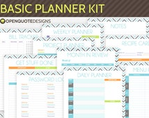 214 x 170 jpeg 13kB, Life Planner Kit, Daily Planner, Undated Weekly ...