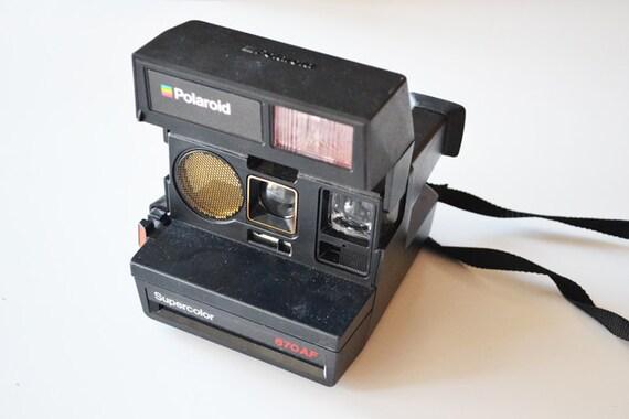 vintage polaroid supercolor 670 af vintage rainbow black. Black Bedroom Furniture Sets. Home Design Ideas