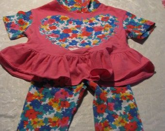 Fantastique kids Vintage - 2 year old colourful set - Made in Canada
