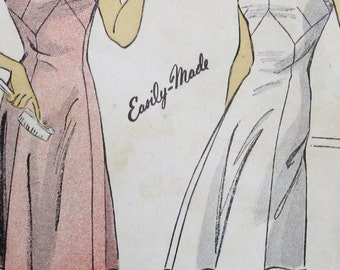 Vintage  DuBarry 1940s Misses Slip Sewing Pattern,  #5439  Size 16 Bust 34 *Epsteam