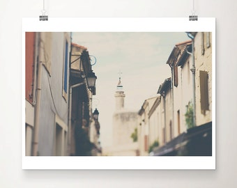 france photograph Aigues-mortes photograph travel photography architecture photograph french decor french photography church photograph