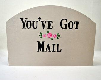 Shabby Chic Storage Box -  You've Got Mail