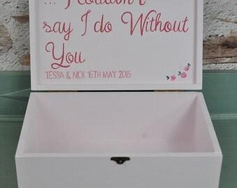 Bridesmaid Box - Wedding Keepsake Box