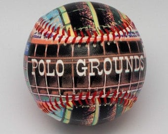 Polo grounds- NY Baseball, Baseball Fan Gift, NY Fan Gift (SS20)