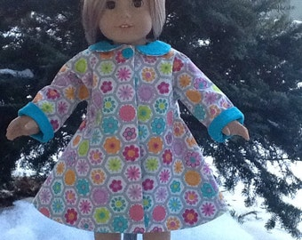 "1950's Reto Style Coat or Jacket for American rican Girl or 18"" dolls"