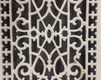 SALE! Antique Cast Iron Floor Heat Register