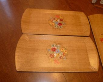 Three Vintage Trays