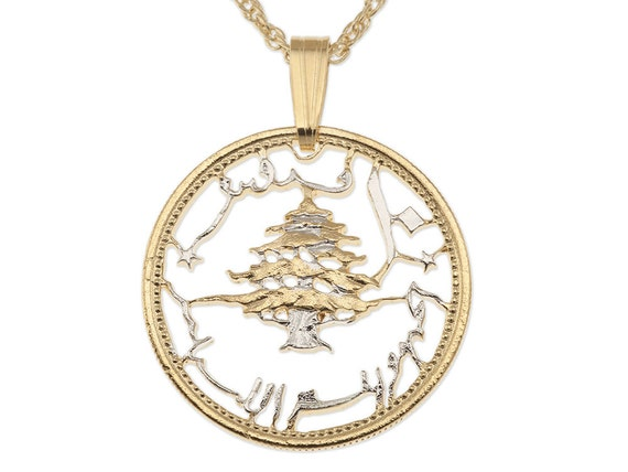 lebanese cedar tree pendant and necklace lebanon 10 by